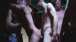 Tommy Defendi, Leo Forte, Blake Daniels and Danimal Get Sexy in the Castro