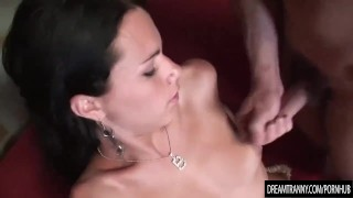 Lustful Shemale Fernanda Barros Fucks a Dude Deep in His Ass