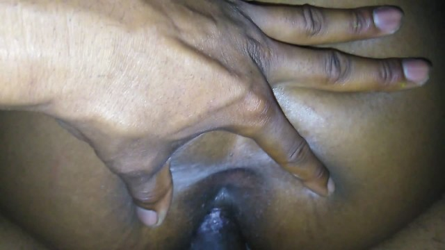 Young black thot take big black dick up ass and loves it 18