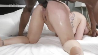 Horny redhead squirts and quivers while banged balls deep Orgasm riding