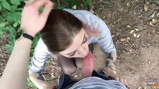 Freya pov on cum sloppy teen swallows from blowjob nature hot deepthroat pov face