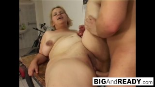 Riding loves cock georgie the chubby babe blowjob