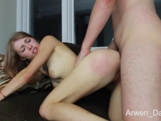 Arwen Gets Fucked Hard On The Couch