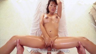 PUREMATURE Rub down MILF massage DRIPPING creampie with asian  doggy style big tits creampie trimmed asian blowjob missionary big dick massage busty milf handjob cock sucking puremature