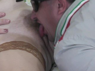 Orgasm squirting squirt wet tongue in pussy milf...