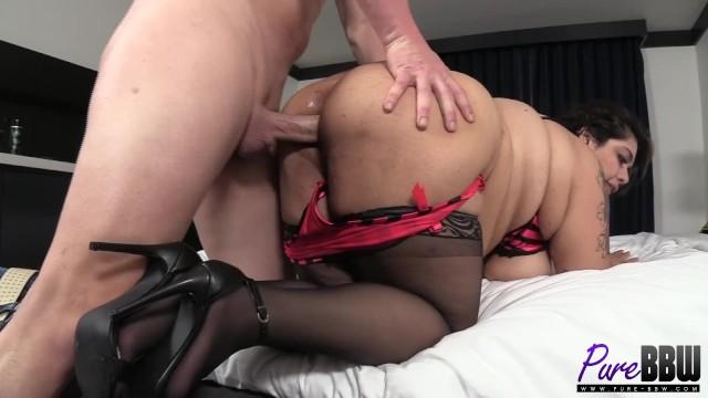 sensual latina BBW Bella Bangz gets fucked 16