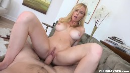 Kayden Kross Anal Sex POV Sucking and Fucking on a big cock