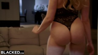 BLACKED MIA MALKOVA WORSHIPS BBC IN FIRST IR!! Of point