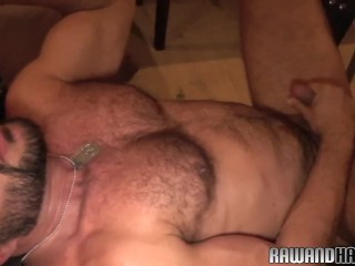 Ripped wolf anally banged bareback