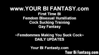 Bisexual Femdom And Sissy Feminization Vids  femdom bisexual bisexual humiliation point of view made to suck femdom fetish bisexual blowjob kink adult toys strapon sucking cock sucking femdom bsdm femdom bi femdom gay