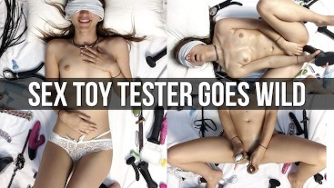 Girl Used As Sex Toy Tester Blindfolded