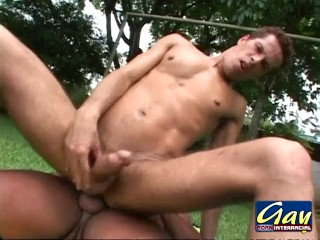 Outdoor Studs Ass Fucking