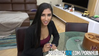 PropertySex - Real estate agent cheats on boyfriend to land deal
