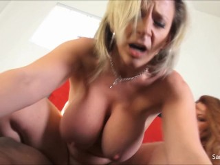 Super Hot MILF Sara Jay And Her Bestie Kate Hardcore BBC Hard For Discount!