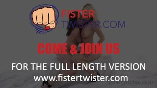 Fist Fuck - Licky Lex is fisted after taking a big red dildo
