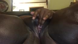 Ebony Teen Masturbating & Squirting