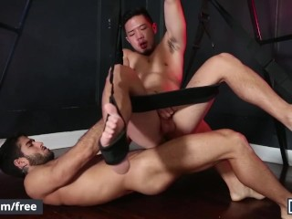 Men.com - Cooper Dang and Diego Sans - Please Disturb Part 2 - Drill My Hol