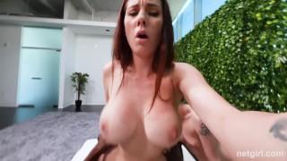 Creampied MILF Has Teen Eat The Creampie From Her Pussy Heels huge