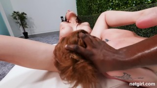 Creampied MILF Has Teen Eat The Creampie From Her Pussy