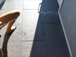 new pissing pee game extra small tiny milf house wash outside shutters