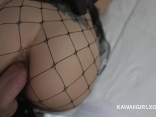 Passed out girl fucked in ass