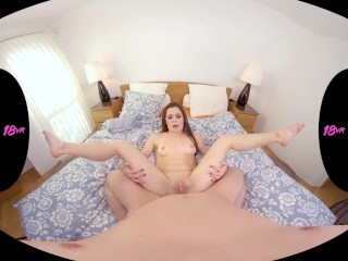 18VR.com Petite Teen Giorgia Roma Offers You Cookies And Her Ass