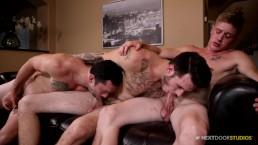 2 Boys Introduced Me To The Gay Game & Their Bareback Dicks!