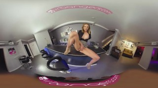VRBangers.com Young Bartender Slut Get's Her Pussy Rammed by a Young Stud