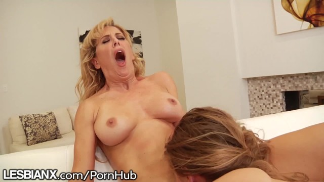 LesbianX Cherie & Lilly Feast on Vag and Dovefuck 4 Cum! 16