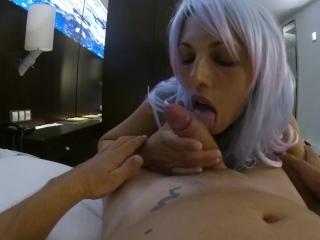 candycherry7 , new girl *bonne pipe gourmande à l'hôtel * first video