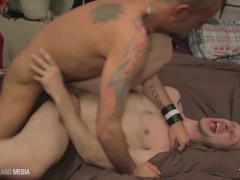 Jesse Karson pounds out Dominic with his giant uncut dick