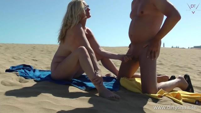 Fucking with the Beach Voyeur - Fun in my Finca 6