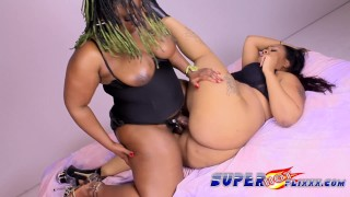 Ebony milf takes advantage of young SLUT