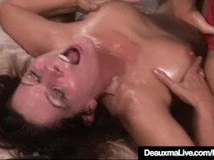 Horny Milf Deauxma Squirts in Magdalene St.Michaels' Mouth!
