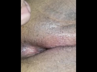 giving her a creampie after quickie