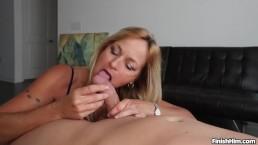 Sexy milf handjob