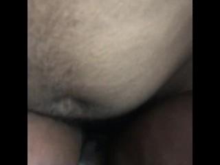 He tears my pussy up
