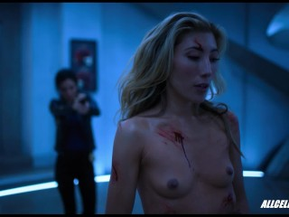 Dichen Lachman's Fully Nude Fight Scene from Altered Carbon