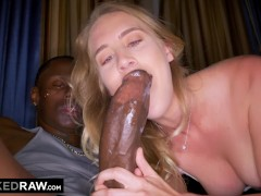 BLACKEDRAW Girlfriend Surprises Her BF By Fucking Biggest BBC In the WORLD