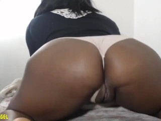 Chubby Ebony Webcam Model Umber Angel Preforms For You