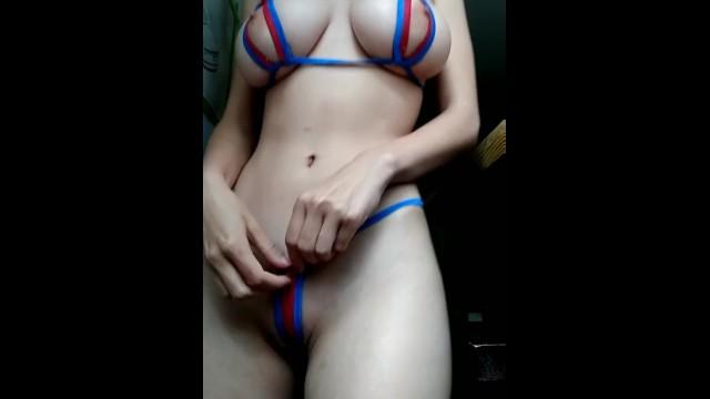 Erotic bikini pictures - Teeny tiny bikini