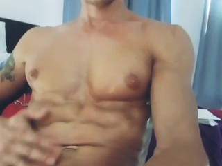 Uncut British Lad Max Taylor Plays With Toy, Wanks & Cums