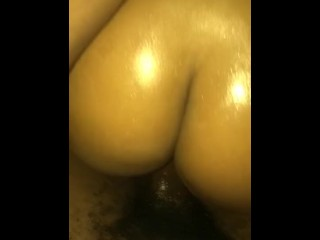 Bouncing on Daddy's BBC