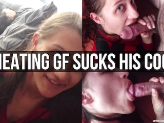 Suck My Cock While He's In Bed