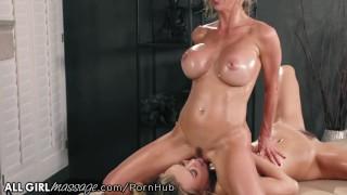 Alexis Fawx makes Natalia Starr Cum from Thai Massage Techniques