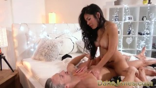 Dane Jones Big tits Asian pierced pussy licked and fucked  poopea doggy danejones deepthroat big boobs black hair small ass g string big tits reverse cowgirl gonzo asian