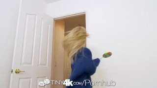 TINY4K Tight pussy stretched out by big dick with teen Piper Perri  teen hd blonde blowjob pornstar small tits tiny4k skinny big dick young hardcore piper perri 4k 60fps petite sex teenager