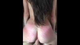 spanking my girlfriend