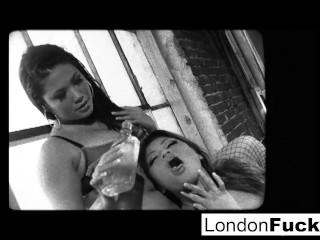 London Keyes and Charmaine Starr fuck