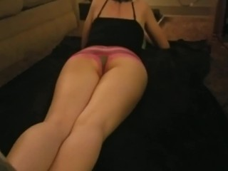 Mallory showing off that petite body